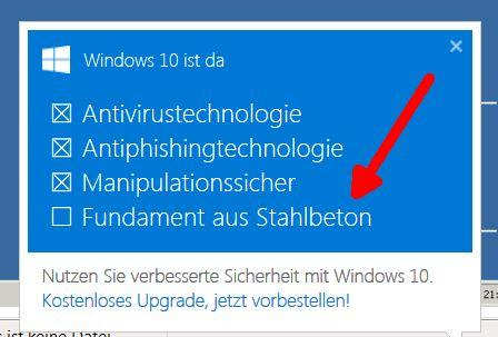 windows 10 ist da.