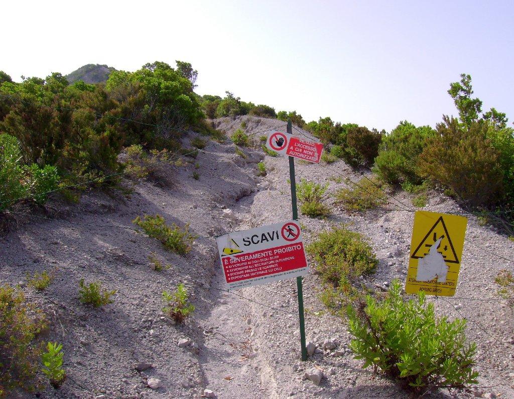 Am Aufstieg zum Monte Pilato