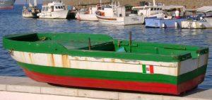 Boot auf der »Marina Corta« von Lipari