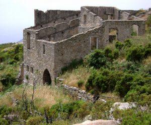 Die ehemalige Mühle von Moncione