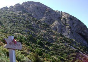 Kletterfelsen über Chiessi