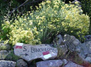 Wegweiser nach S. Bartolomeo