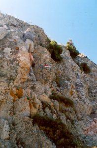 Das Klettersteiglein am Monte S. Bartolomeo